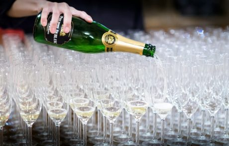 Free Case Champagne For Events Booked In May