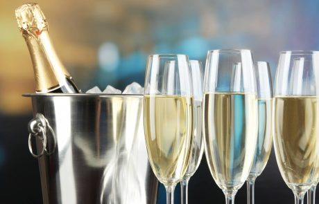 Complimentary Case of Champagne for January Event Bookers