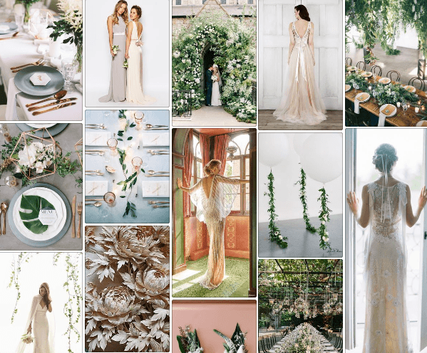 Pinterest wedding inspiration for Plaisterers Hall